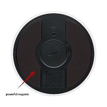 Compra Temporizador de cocina digital, giro electrónico temporizadores disco modelo minutos segunda cuenta hasta cuenta regresiva pantalla LCD alarma ...