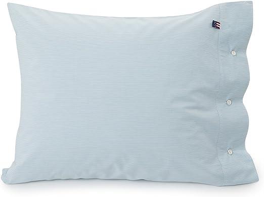 Lexington Funda de Almohada, algodón, White/Green, 25 x 20 x 1 cm: Amazon.es: Hogar