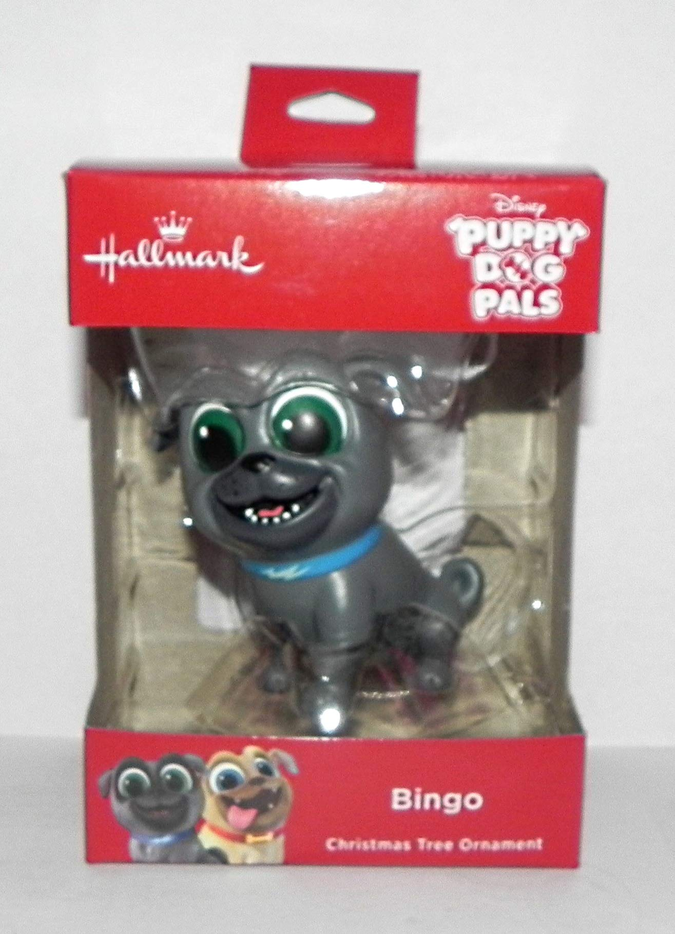 2018 Hallmark Disney Jr Puppy Dog Pals Bingo Christmas Ornament by HallmarkDisney