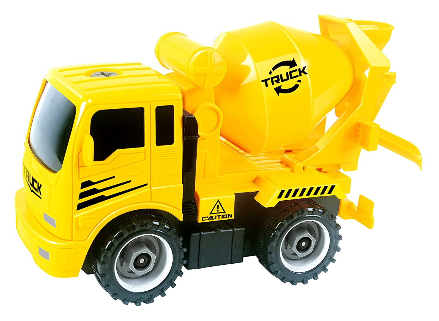 PowerTRC Take-A-Part Construction Truck with 4 Different Forms ...