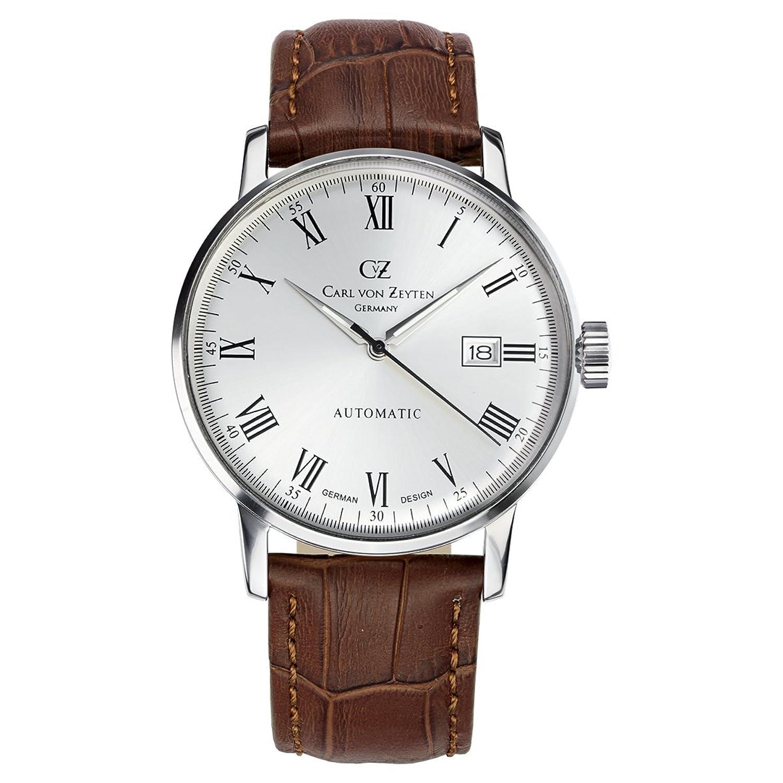 Carl von Zeyten(カールフォンツォイテン) 腕時計 Dreisam 自動巻き デイト メンズ CvZ0010WH 【正規輸入品】 B00ZX9BO0I