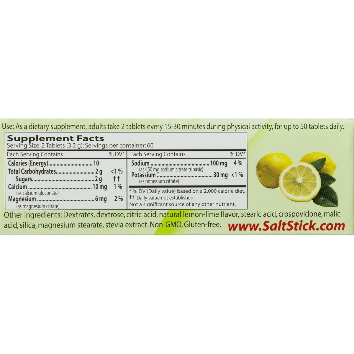 SaltStick Fastchews, Electrolyte Replacement Tablets for Rehydration, Exercise Recovery, Youth Adult Athletes, Hiking, Hangovers, Sports Recovery, 12 Packets of 10 Tablets, Lemon Lime Flavor