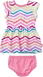 OFFCORSS Baby Girl Newborn Cute Dress with Panty Set | Vestidos de Bebe Niña