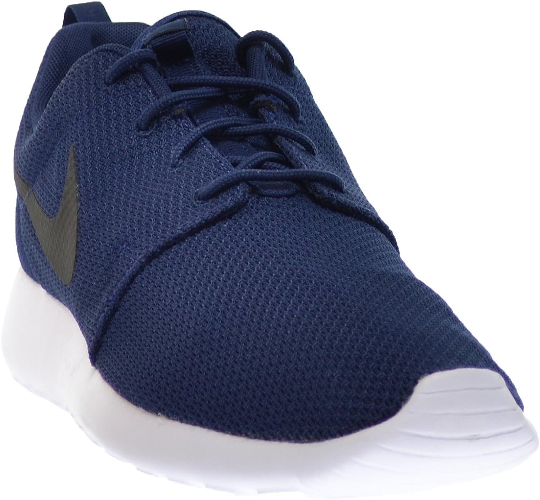 NIKE Rosherun Mens Shoes Midnight Navy//Black White 511881-405