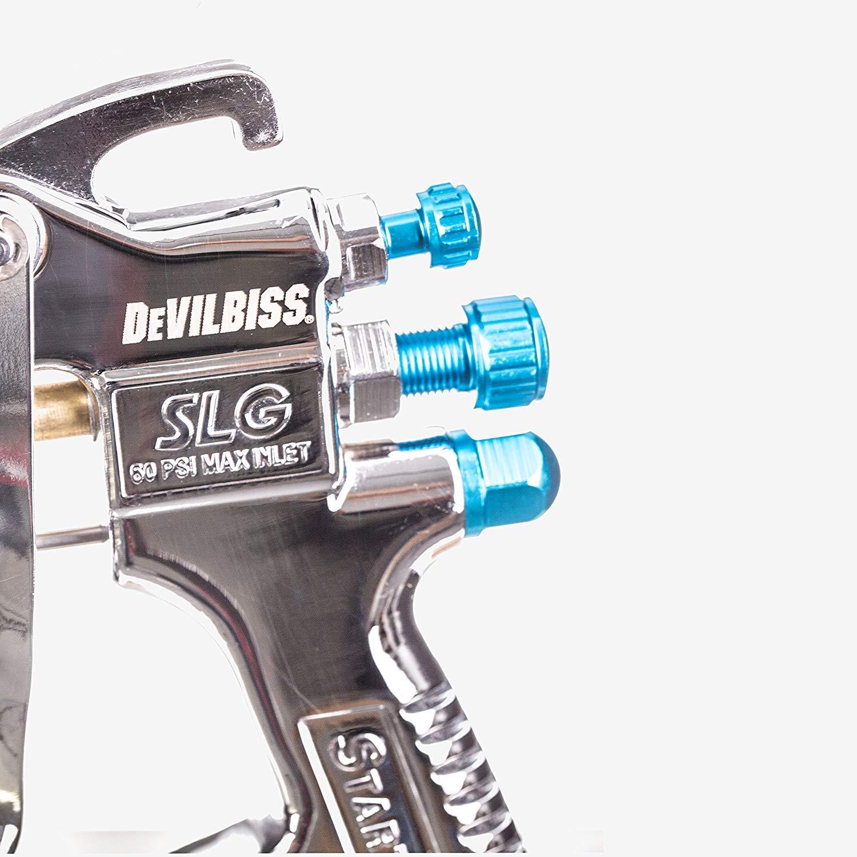 Regolatore di pressione Gravita Pistola per verniciatura DEVILBISS SLG 620 StartingLine 1,3+1,8 mm