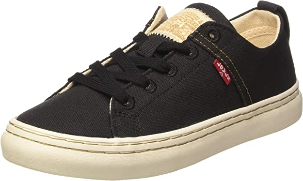Levi's Global Vulca Low Sneakers Damen Schwarz