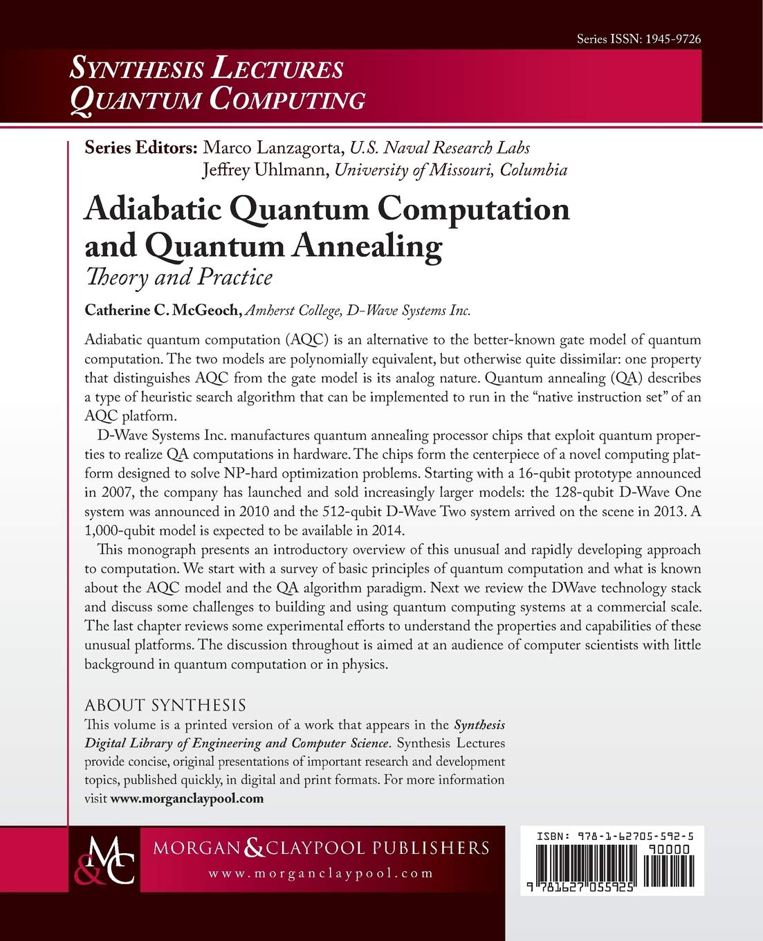 Amazon.fr   Adiabatic Quantum Computation and Quantum Annealing ...