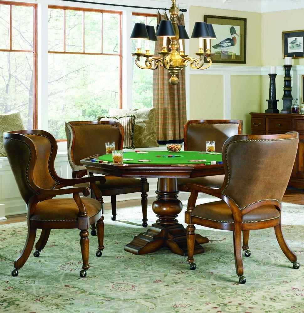 Amazoncom Hooker Furniture Waverly Place Reversible Top Poker