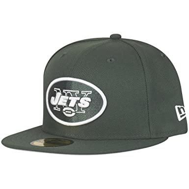1e23e5d31be New Era York Jets Solid Green On Field NFL Cap 59fifty 5950 Fitted Limited  Edition