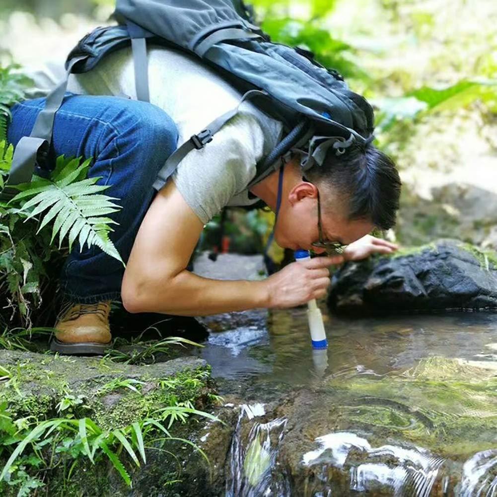 zum Wandern Camping Reisen omufipw Tragbarer Wasserfilter f/ür den Au/ßenbereich
