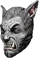 Morris Costumes Ghoulish Productions Beast Silver Wolf Latex Mask