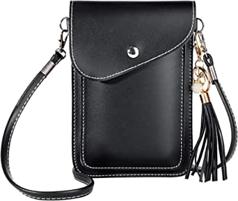 Pockets Series Small Travel Crossbody Tassels Bags Cell Phone Purse Wallet