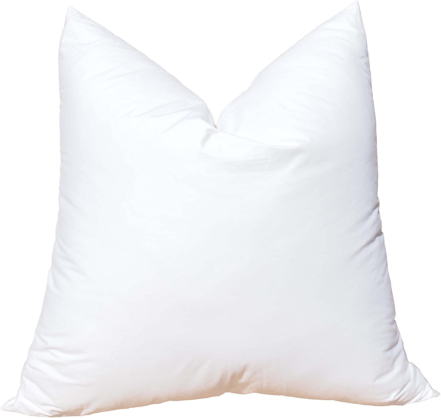 Pillowflex Synthetic Down Pillow Insert for Sham Aka Faux/Alternative (20 Inch by 20 Inch)
