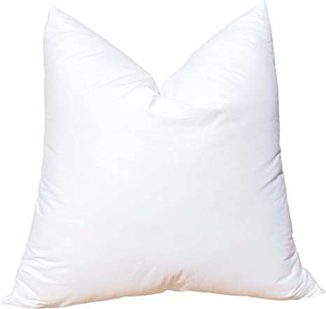 12x20 Synthetic Down Pillow Form Insert for Craft and Pillow Sham  Alternative Down  Micro Denier  Faux Down  Rectangle Lumbar SKU 130