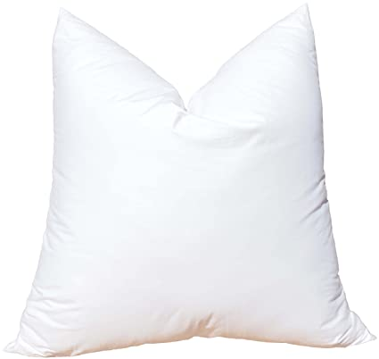 Amazon Pillowflex Synthetic Down Pillow Insert For Sham Aka Unique 30 Inch Euro Pillow Inserts