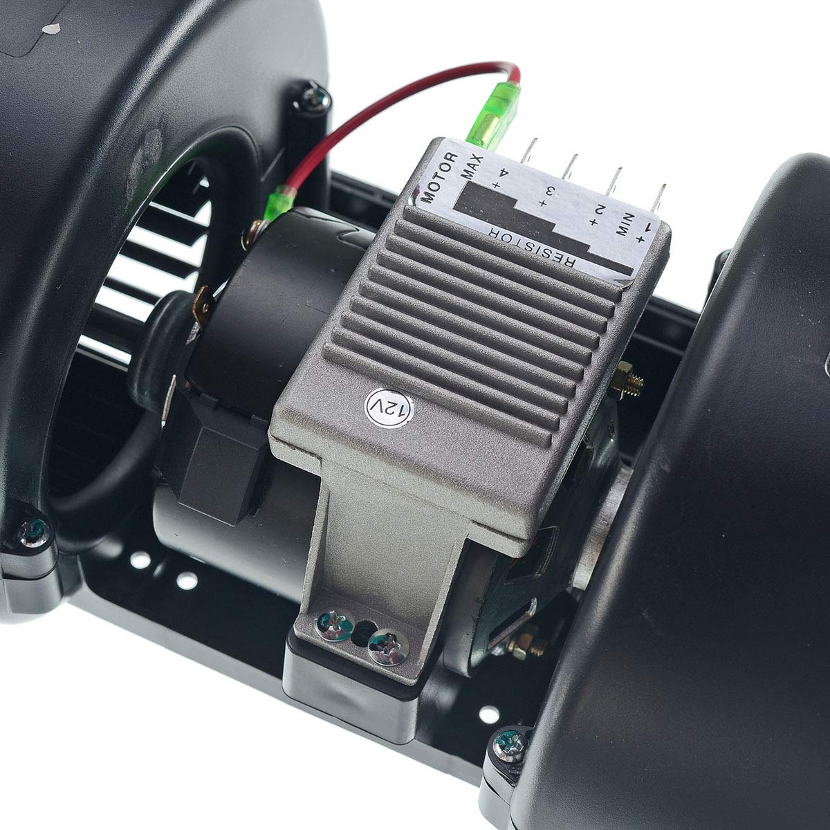 Radial Gebl/äse Heizungsl/üfter vorne bei Axial L/üfter 12V 1080m/³//h 25,3 amp 006-A40-22