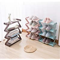 Furn Aspire 4 Layer Z Type Lightweight Sleek Space Saving Shoe Rack