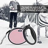 Topto Retractable dog leash, dog walking leash