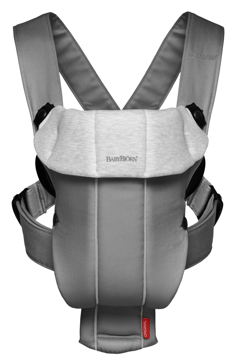BABYBJORN Baby Carrier Original - Black Spirit, Cotton 023071US