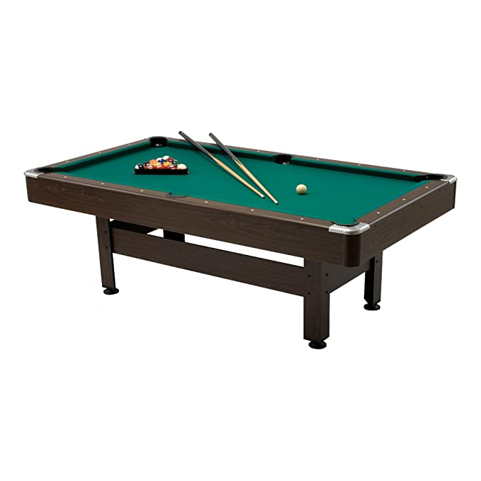 2 opinioni per VIRGINIA 7 Tavolo Biliardo gioco dimensioni 200x100 cm, Garlando, TABLE, POOL