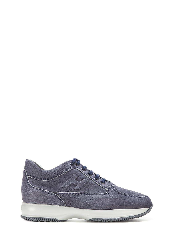 Hogan メンズ HXM00N09041LNDU806 ブルー 革 運動靴 B07DCCX59S