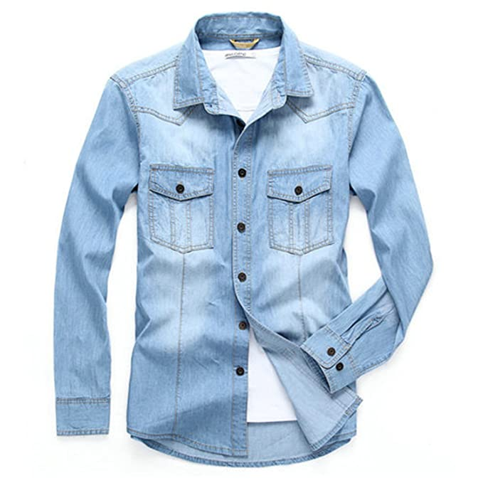 Amazon.com: musamk Dashing traje de lino (Camisas marca 2016 ...