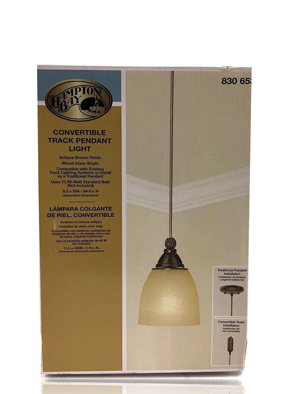1-Light Antique Bronze Linear Track Lighting Pendant - Track Lighting Accessories - Amazon.com
