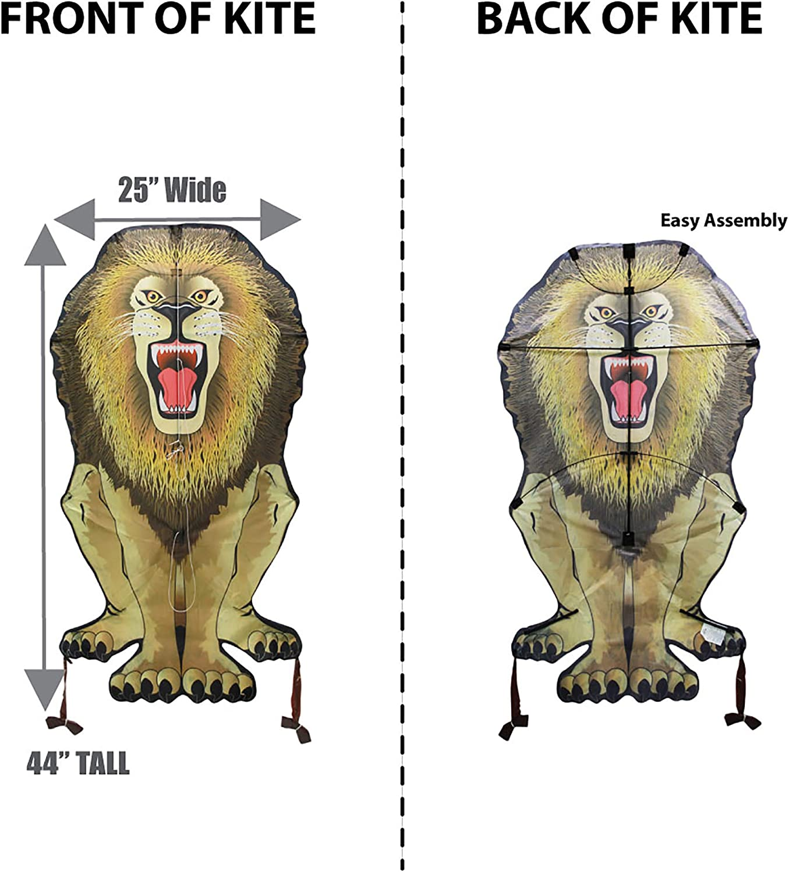 WindNSun Skyzoo Polyester Ripstop Lion Kite 44 Tall