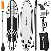 """TELESPORT Paddle Boards 11' x 33""""x6"""" Inflatable Stand Up Paddleboard for Adult, Blow Up SUP Board, 350lbs Weight…"""