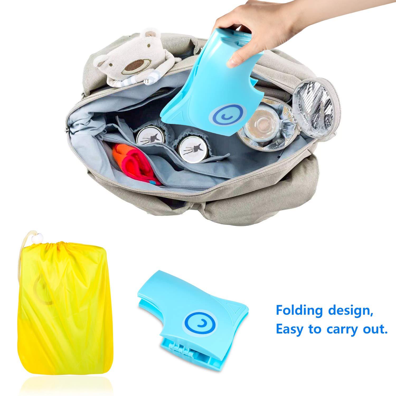 Asiento de Inodoro para Niños+12 PCS Inodoro Desechable,PAMIYO Asientos para WC Ideales para el Entrenamiento del Orinal, Anti-bacterias y Portátil para ...