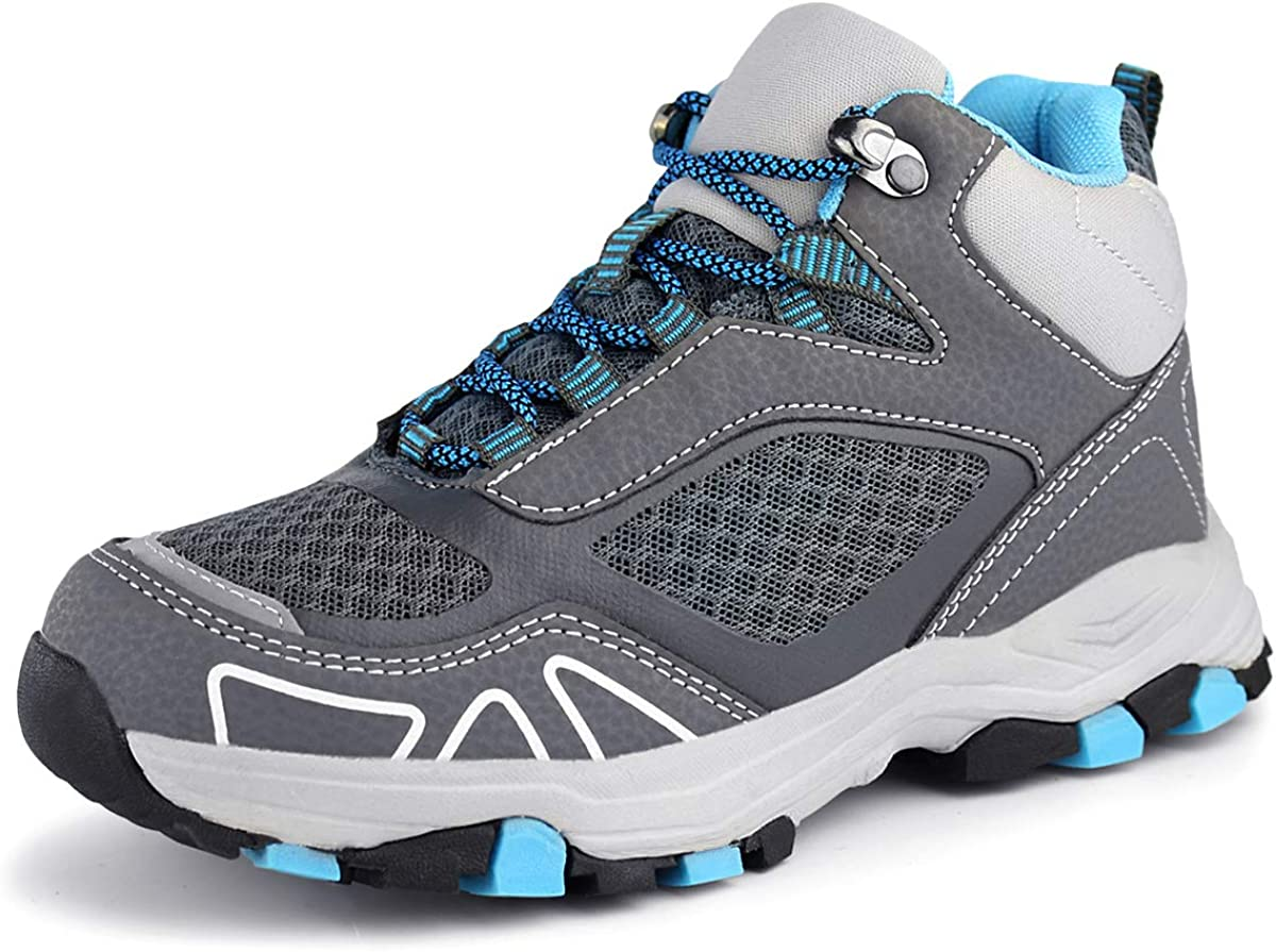 Hawkwell Kids Outdoor Mid Ankle Shoes Hiking Boot Little Kid//Big Kid