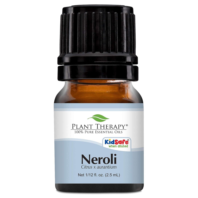 Plant Therapy Neroli Essential Oil 2.5 mL (1/12 oz) 100% Pure, Undiluted, Therapeutic Grade