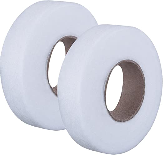 Fusible Webbing Sewing Hemming Tape for Sewing Hem Iron-On Adhesive Each 70 Yards Fabric Fusing Tape Adhesive Hem Tape Iron-on Tape