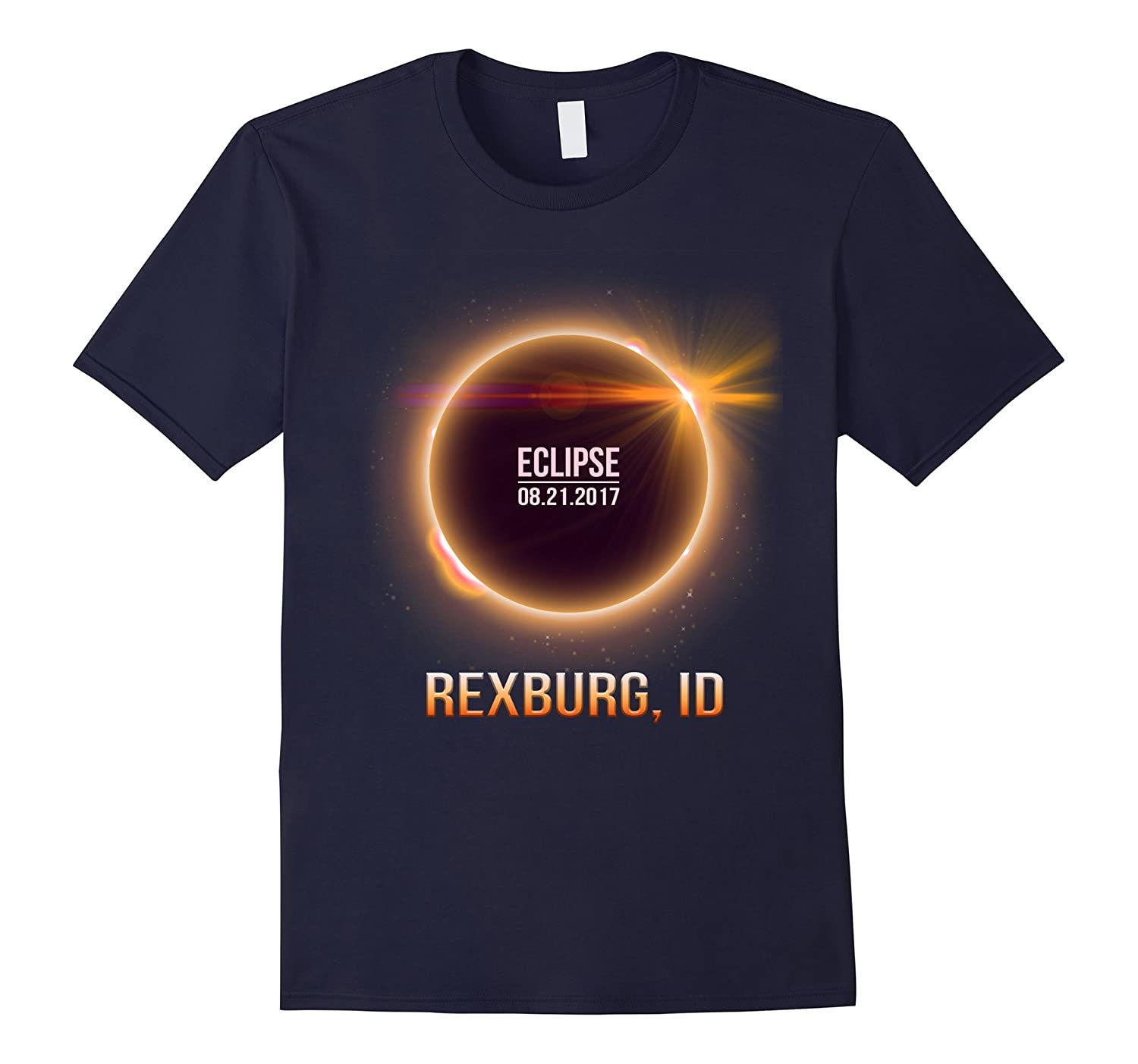 Rexburg Idaho Total Solar Eclipse 2017 Shirt-T-Shirt