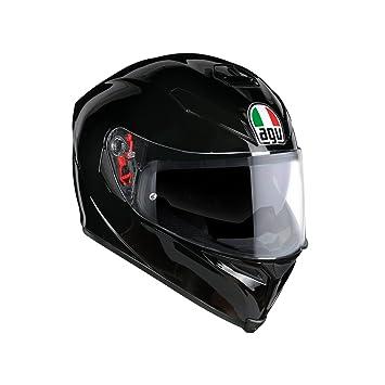 AGV Casco Moto K-5 S E2205 Solid plk, Negro, ...