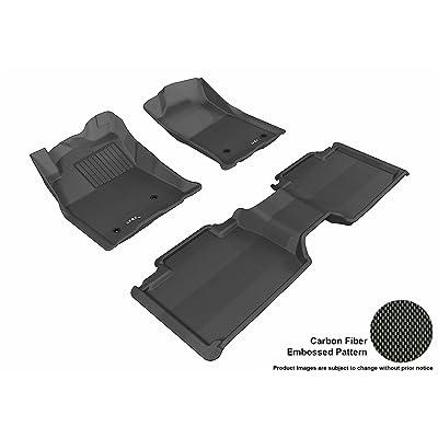 3D MAXpider L1BM07311509 Black BMW X1 2016-2018// X2 2018 Kagu Rubber Front Row