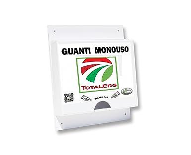 Dispensador de pared para guantes de estaciones de servicio y Oficina 100 PLT Guantes, LOGO