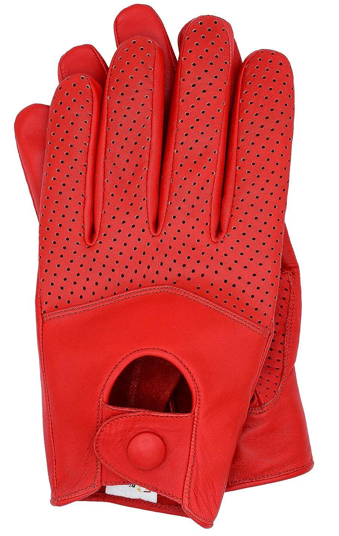 Riparo Motorsports Men's Leather Driving Gloves DG10002SM-$P
