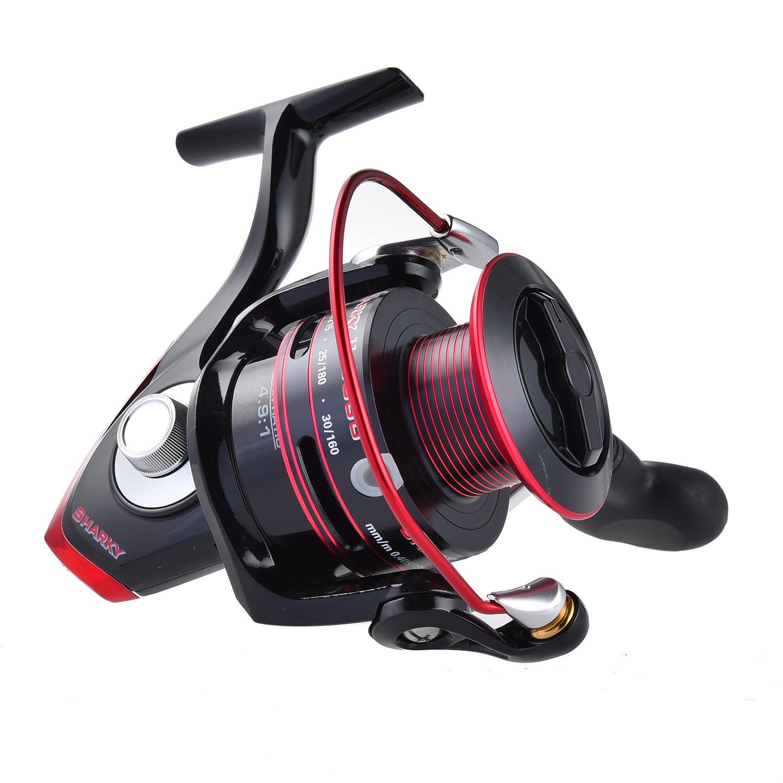 Kastking Sharky Ii Spinning Reel - Carbon Fiber 41.5 Lbs Max Drag Brass Gears.. 16