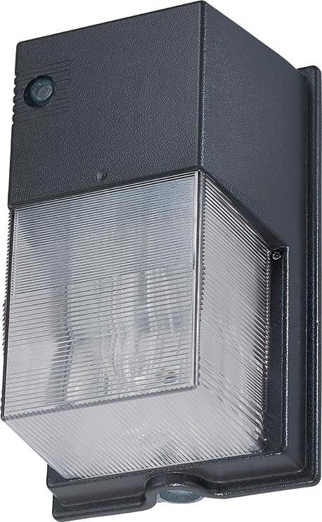 Architectural Bronze 70 Watt Metal Halide Wallpack Outdoor Wall Light w//Bulb