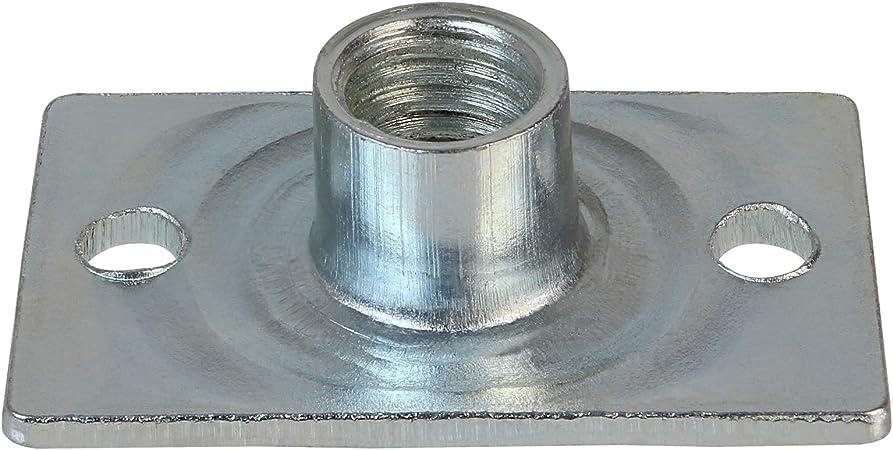 ALPIDEX 100 Tuercas de inserción Especial Professional M10 cincada fijación con Tornillos para Tablero aglomerado