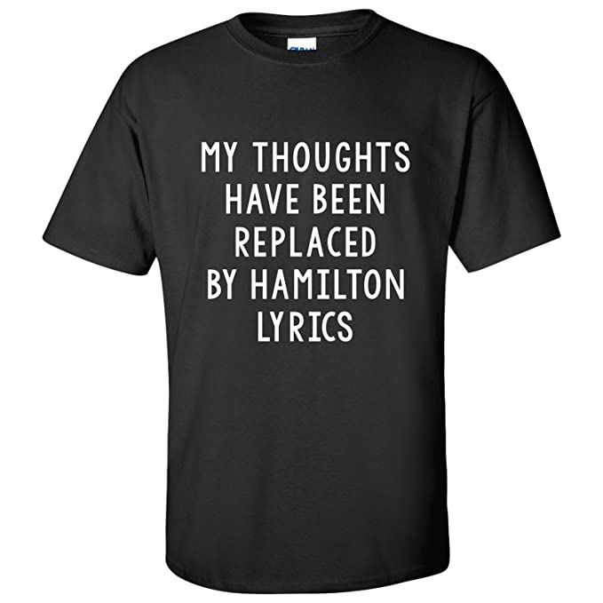 cc641406b UGP Campus Apparel My Thoughts Have Been Replaced by Lyrics - Theater Adult  T-Shirt