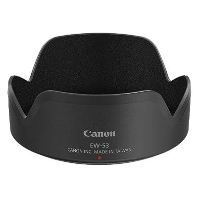 Canon EW-53 Negro - Parasol (Canon EF-M 15-45mm f/3.5-6.3 IS STM, Negro, De plástico)