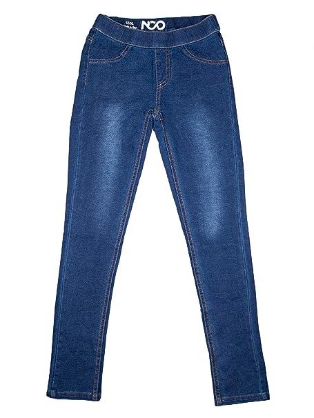 94bbc63ba6ea6 Amazon.com: NCO Girls Classic Pull-on Kids Jeggings Leggings Jeans Pants:  Clothing