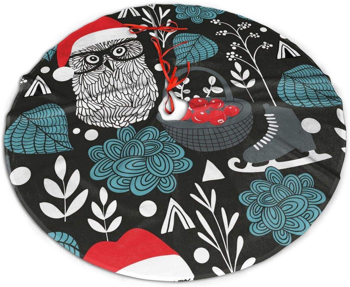 Tamko Christmas Card 2020 Amazon.com: Christmas Night Owl Black Themed Round Christmas Xmas