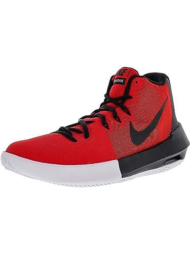promo code 11023 cb8a4 Nike Mens Air Integrate University RedWhite High-Top Basketball Shoe - 8M
