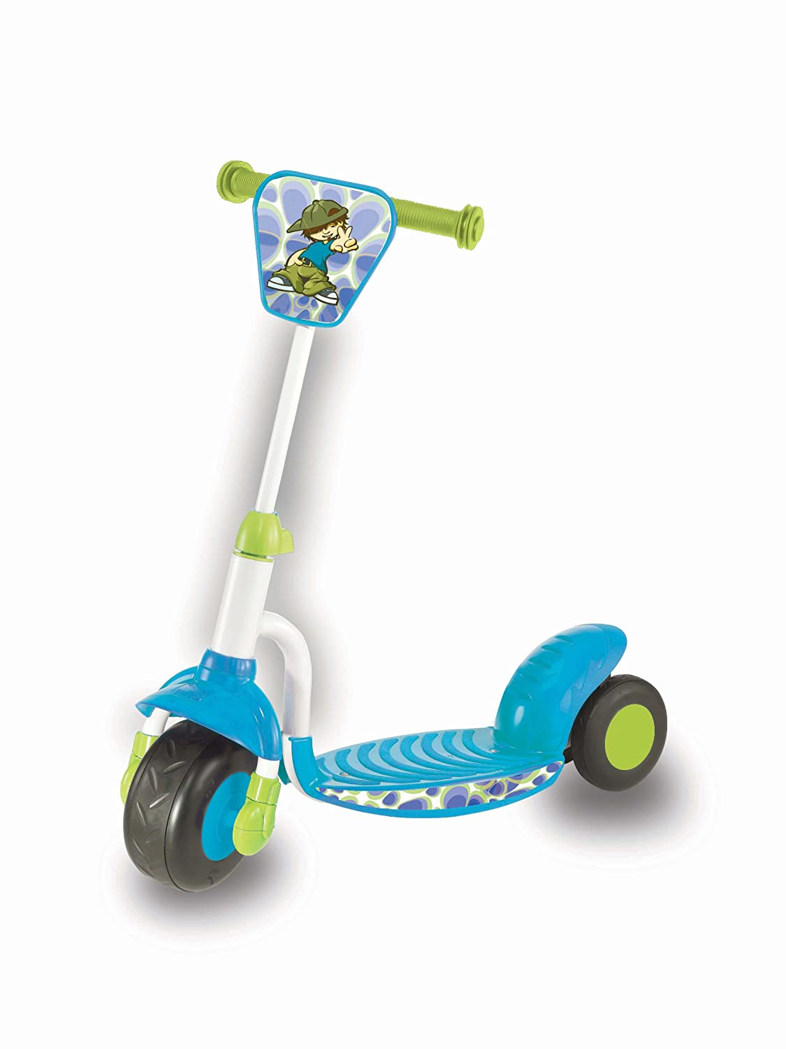Smart Trike Scooter - Patinete de juguete, color azul y ...
