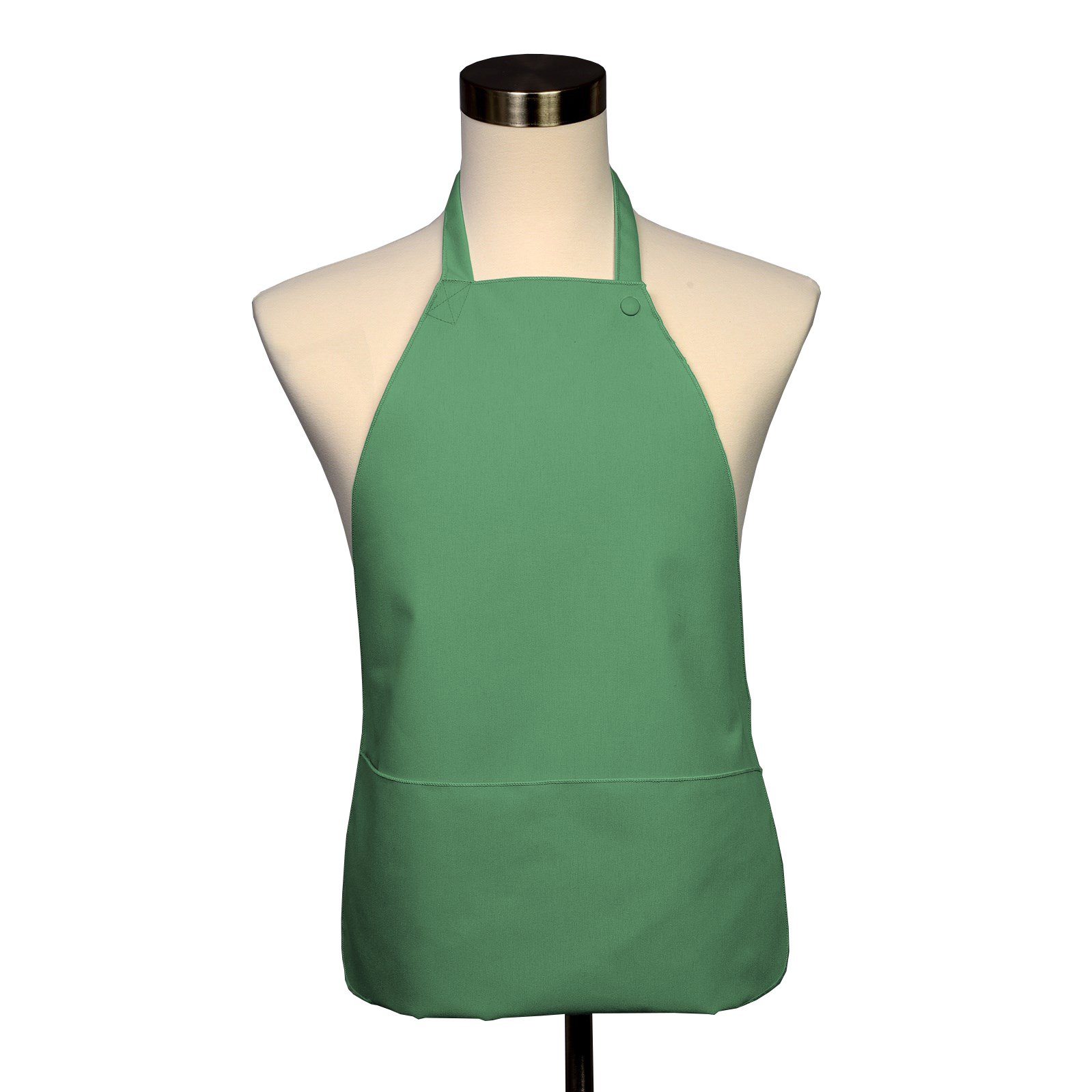Adult Bib 25 Pack - Covered with Care Assorted Colors Available! (Seafoam) by Fabric Textile Products