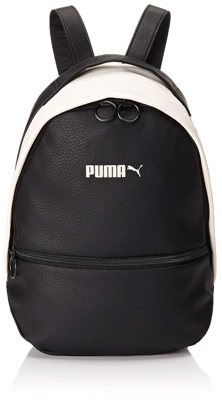 PUMA(プーマ) プライム クラシック アーカイブ バックパック (075407 01) 7L ブラックXホワイト   B07F25GD6J