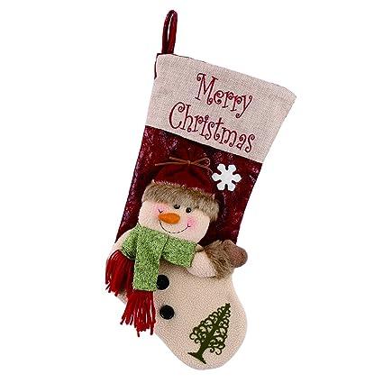 Calcetines de Navidad forhouse 3d Retro koder para calcetines de Navidad árbol de Navidad Chimenea Suspension